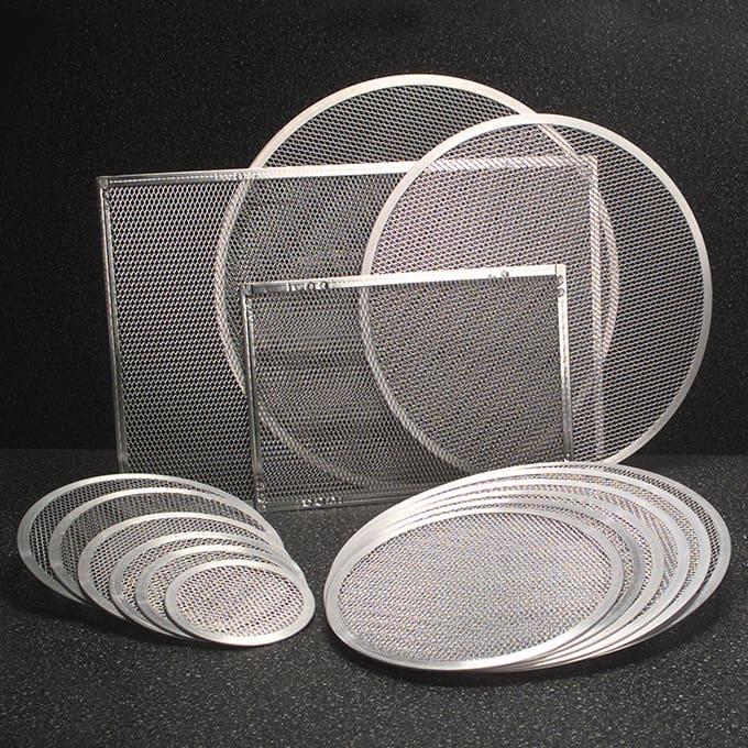 Screens Amp Disks Pizza Screens Rectangular American