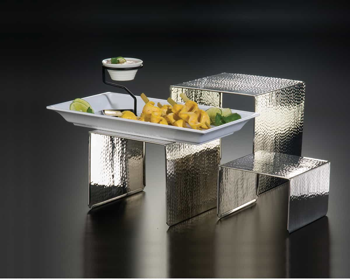 Stands And Risers Stainless Steel Riser Sets American