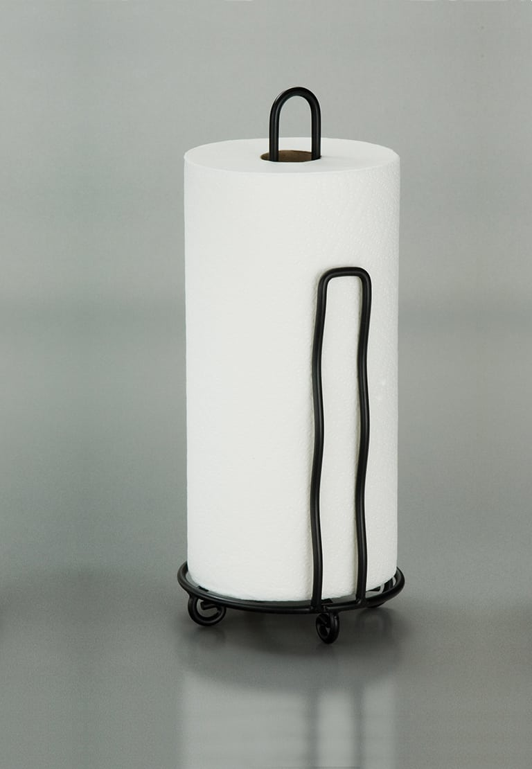 Wrought Iron Paper Towel Holder