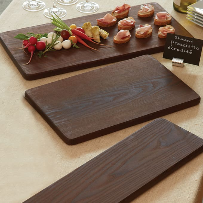 Wood Finishes Ash Serving Boards