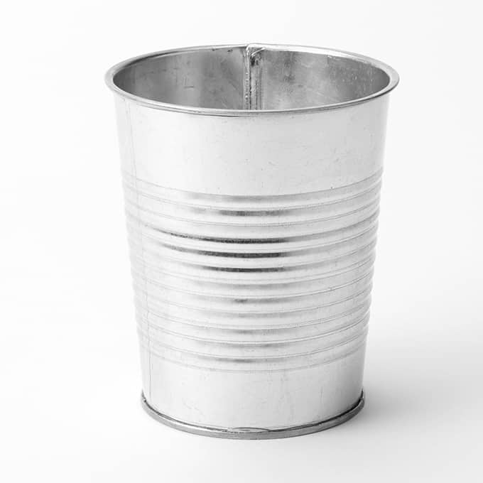 Galvanized Soup Cans Fgs337 American Metalcraft
