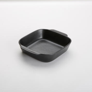Black Matte Finish Porcelain Casseroles Pbb8 American